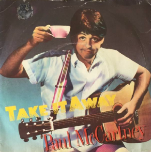 "Paul McCartney - Take It Away (7"") (G/G)"